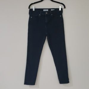 Banana Republic High Rise Skinny Ankle Jean